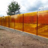 Забор из поликарбоната_4