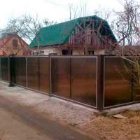 Забор из поликарбоната_6