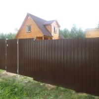Забор из профнастила_10