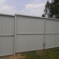 Забор из профлиста_11