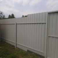 Забор из профлиста_12