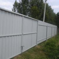 Забор из профлиста_13