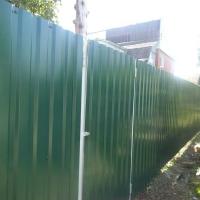 Забор из профнастила_2