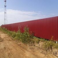 Забор из профнастила_3