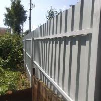 Забор из профнастила_4