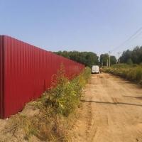 Забор из профнастила_5