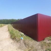 Забор из профнастила_7