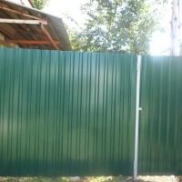 Забор из профнастила_9