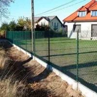 Забор из сетки рабицы_2