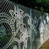 Забор из сетки рабицы_3