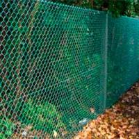Забор из сетки рабицы_5