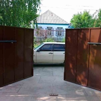Распашные ворота_1