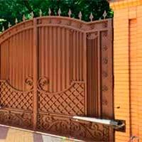 Распашные ворота_6
